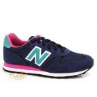 Tênis New Balance WL373NTPB > Azul Marinho, Rosa e Verde >