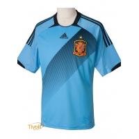 97802b03c2 Camisa Espanha II Away 2012 Adidas. - Mega Saldão