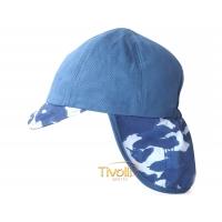 Boné Infantil Adidas Neck Flap a563185345b51