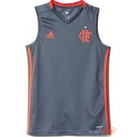 Regata Treino Flamengo Infantil Adidas b8d31017d0353