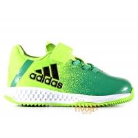 0c98323d43600 Chuteira Adidas Rapida Turf X EL I Infantil