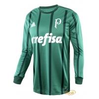 a729157de Camisa Palmeiras Manga Longa I 2017 Adidas Masculina. - Mega Saldão