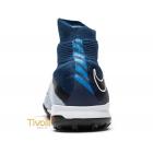 32f99f97eb5b0 Chuteira Nike HypervenomX Proximo II DF TF Society Azul Marinho, Cinza,  Branca e Preta. Código: 852576 404