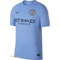 c6723fb02a Camisa Manchester City I Home Infantil 2017 2018 Nike. - Mega Saldão