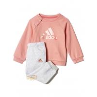 308a3fe5bd40f Agasalho Adidas Badge of Sport Jogger Set Infantil