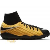 Chuteira Nike JR. HypervenomX Phelon III DF TF Society Infantil e47b4ba5f2101