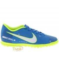 Chuteira Nike JR. MercurialX Vortex III Neymar TF Society Infantil e86b250434b
