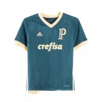 8731279574 Camisa Palmeiras III 2017 2018 Adidas Infantil. - Mega Saldão