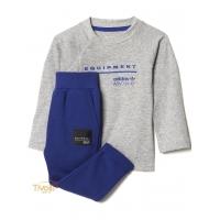 78d769186a43f Conjunto Esportivo EQT Adidas Originals Infantil