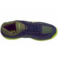 Black Friday - Tênis Asics Gel Court FF Azul Marinho e Verde Limão. Código   E700N 4907 a55b8b40b5ef1
