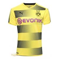 f5bfc7105611c Camisa Borussia Dortmund BVB I Home Puma 2017 18 Infantil