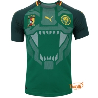 Camisa Camarões I Home 2018 Puma 92ded01a97674