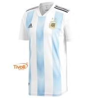 Camisa Argentina Authentic I Home Adidas 5a4946bcf3404