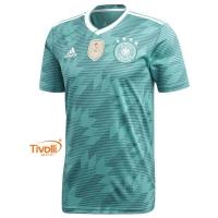 Camisa Alemanha II Away 2018 Adidas 1489e6193ae3f