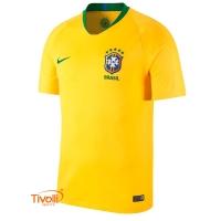 Camisa Brasil CBF I Torcedor 2018 Nike. Masculina 4b91742a6a69f