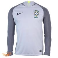 Camisa Brasil CBF Goleiro 2018 Nike 68ecf3d052e49