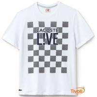Camiseta Lacoste Live f45dac6ac0