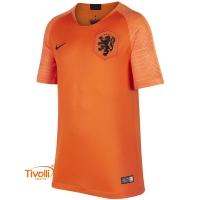 893b5803f3 Camisa Holanda I Home 2018 Nike. Infantil