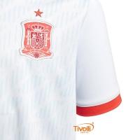Camisa Espanha 2018 Adidas II Away Infantil. Código  BR2694 c1a97564d1da1