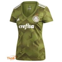 Camisa Palmeiras III 2018 Adidas. Feminina - Mega Saldão faa7233a75bad