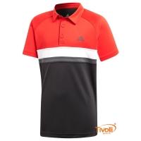 Camisa Polo Adidas. Colorblock Club Infantil 747b62db17a09