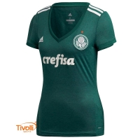 d236d9860e Camisa Palmeiras Adidas. I 2018 Feminina - Mega Saldão