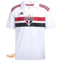 Camisa São Paulo I Home 2018 Adidas b98af9f459af5