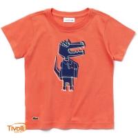 Camiseta Lacoste Infantil 819e7ca585