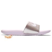 b5b2038e454 Chinelo Nike Kawa Slide. Infantil rosa tam.