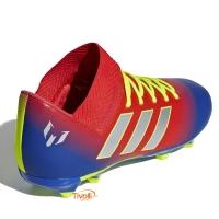 3f2a892f4b91e Chuteira Adidas Infantil Messi Nemeziz 18.3 FG Campo. Código  CM8627