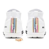 be101d42b541b Chuteira Nike Mercurial Superfly 6 Society Infantil Academy GS TF CR7 -  Mbappé. Código: AJ3112 109