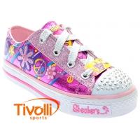 60cbc225b7a Tênis Skechers Groovy Baby Twinkle Toes