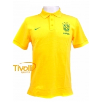 Camisa Polo Brasil CBF Nike   - Mega Saldão   e0c30120d538c
