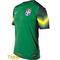 Camiseta Nike Brasil CBF Goleiro 2014. - Mega Saldão 18046dd1d90bd