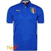 Camisa Itália 2014 I Puma. - Mega Saldão 33e847b05eb25
