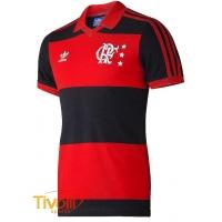 Mega Saldão - Camisa Adidas Flamengo retrô 6c610db3fcb10