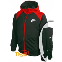 Agasalho infantil Nike Futura Tricot Hooded Tracksuit 91aaf7eb24a0c