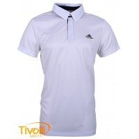 Camisa Polo Adidas masculina Performance. Sequentials branca c2592c6e4a