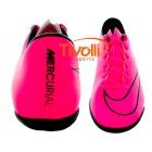80c65e06e87 Black Friday - Chuteira Nike Indoor Mercurial Victory V IC Futsal rosa e  preto. Código  651635 660