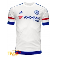 Camisa Chelsea II Adidas Infantil. - Mega Saldão e53bc2fbc5ffb