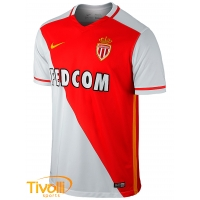 Camisa Monaco I 2015 16 Nike. - Mega Saldão 75733c3615417
