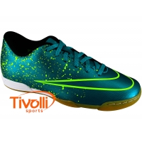 1951d463fd7b5 Chuteira Nike Mercurial Vortex II IC futsal   verde
