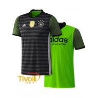 Camisa Alemanha II Dupla Face Adidas Euro 2016. - Mega Saldão 1e8342c92262a