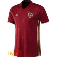 Camisa Russia I Adidas 2016. - Mega Saldão 6eb21be07be4e