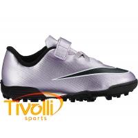 Chuteira Nike Mercurial Vortex II TF Society Infantil 54de62316fef3
