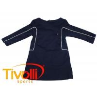dad02d2d22 Vestido Tommy Hilfiger Infantil. manga longa azul marinho