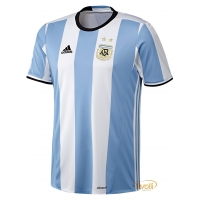 Camisa Argentina I Home 2016 Adidas. - Mega Saldão f49ca7d6057ef