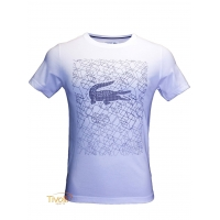 Camiseta Lacoste Ultra Dry Sport. masculina branca 3d7d7b2459