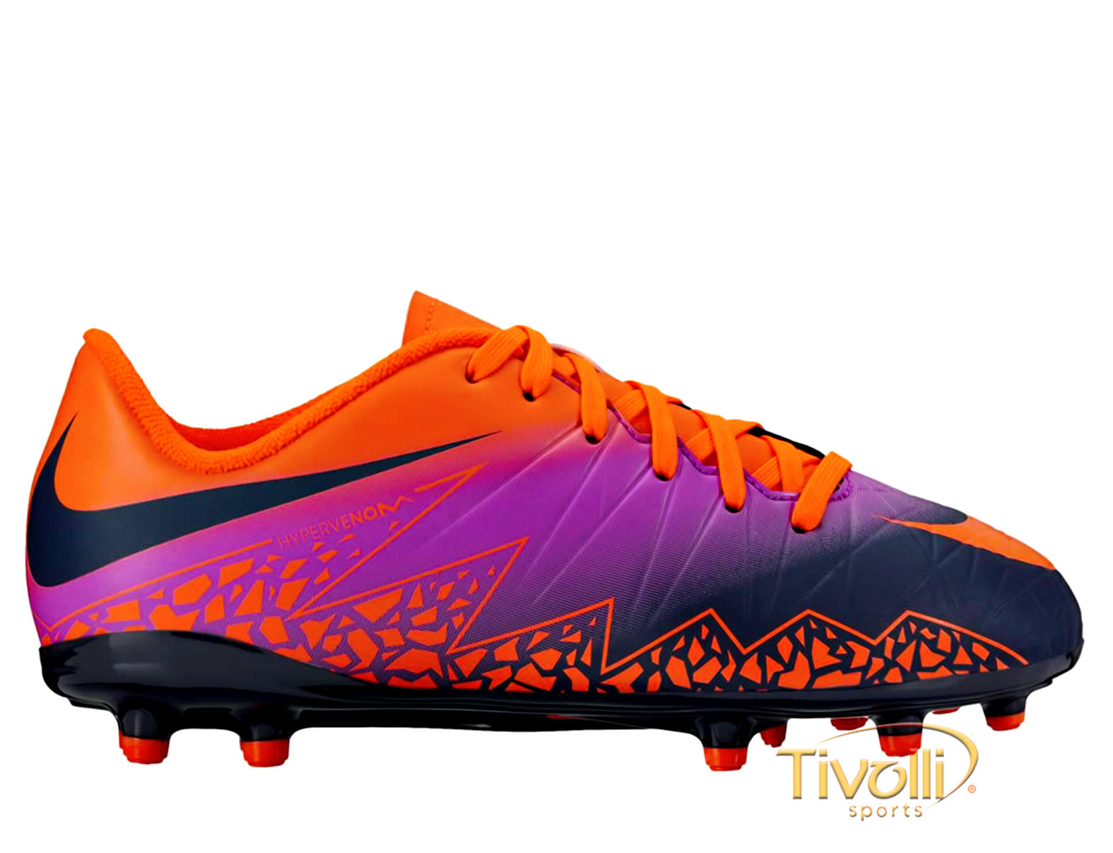 73fcb757c Chuteira Nike Hypervenom Phelon II FG Campo Infantil