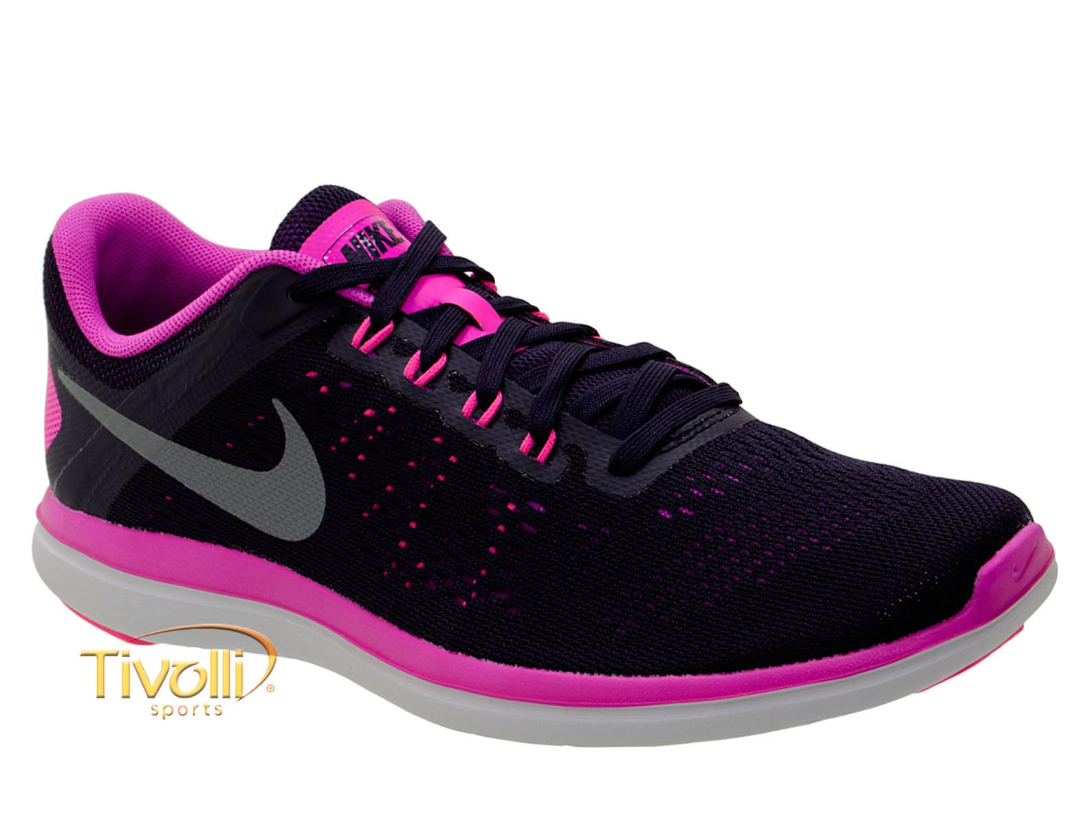 b40e621dad5 Tênis Nike Flex 2016 RN   Roxo e Rosa